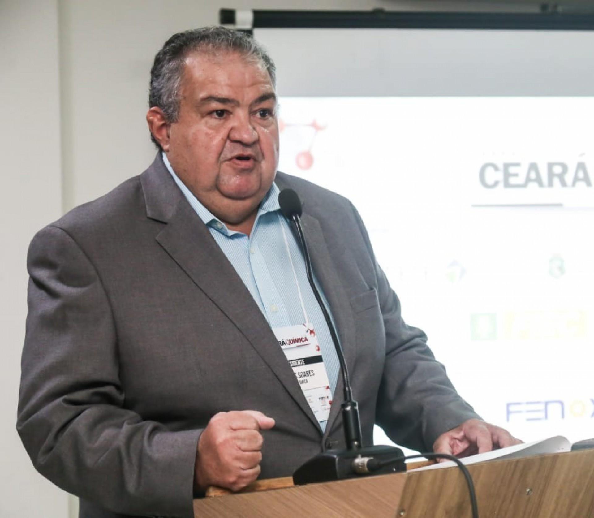 Marcos Soares, que preside o Centro Industrial do Ceará e o Sindiquimica, é um dos mentores do projeto (Foto: Divulgação)