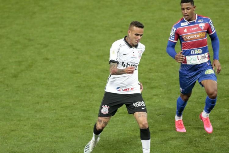 Corinthians e Fortaleza empatam e seguem na parte de baixo da Série A (Foto: )