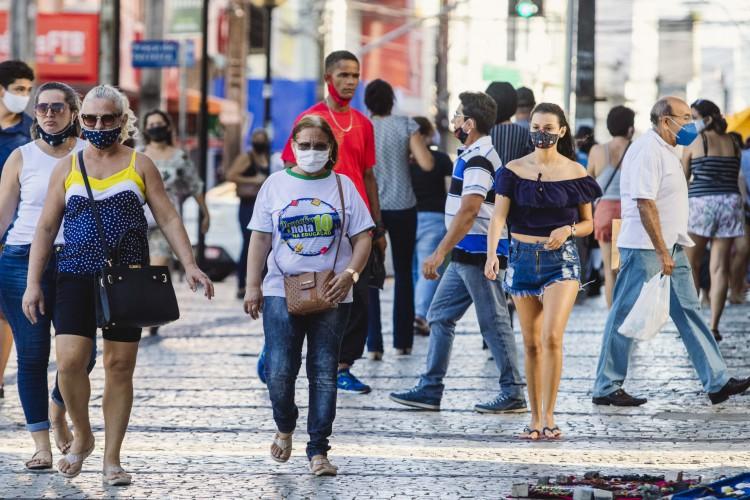 No recorte por sexo, 52,4% dos cearenses são mulheres (Foto: Aurelio Alves/ O POVO)