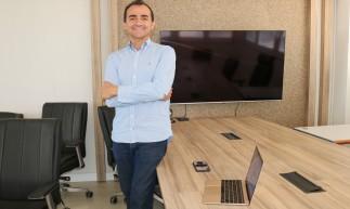 FORTALEZA, CE, Brasil. 28.08.2020: Jose Roberto Nogueira, 55, CEO da Brisanet. (Fotos: Deisa Garcêz/Especial para O Povo)