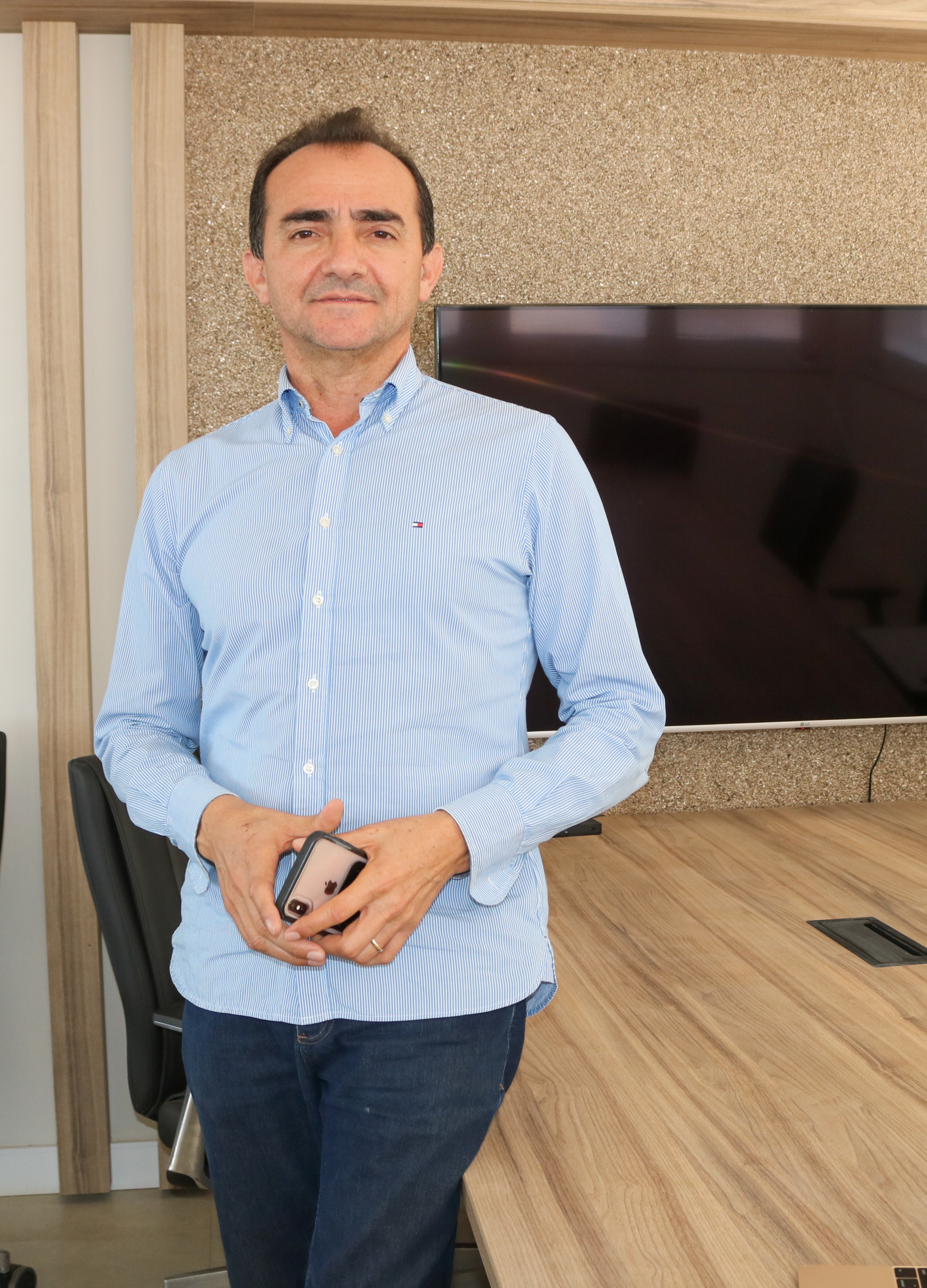 José Roberto Nogueira, CEO da Brisanet (Foto: Deisa Garcêz/Especial para O Povo)