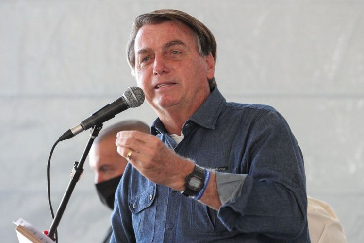 Em julho, Bolsonaro testou positivo para Covid-19 (Foto: DIVULGAÇÃO)