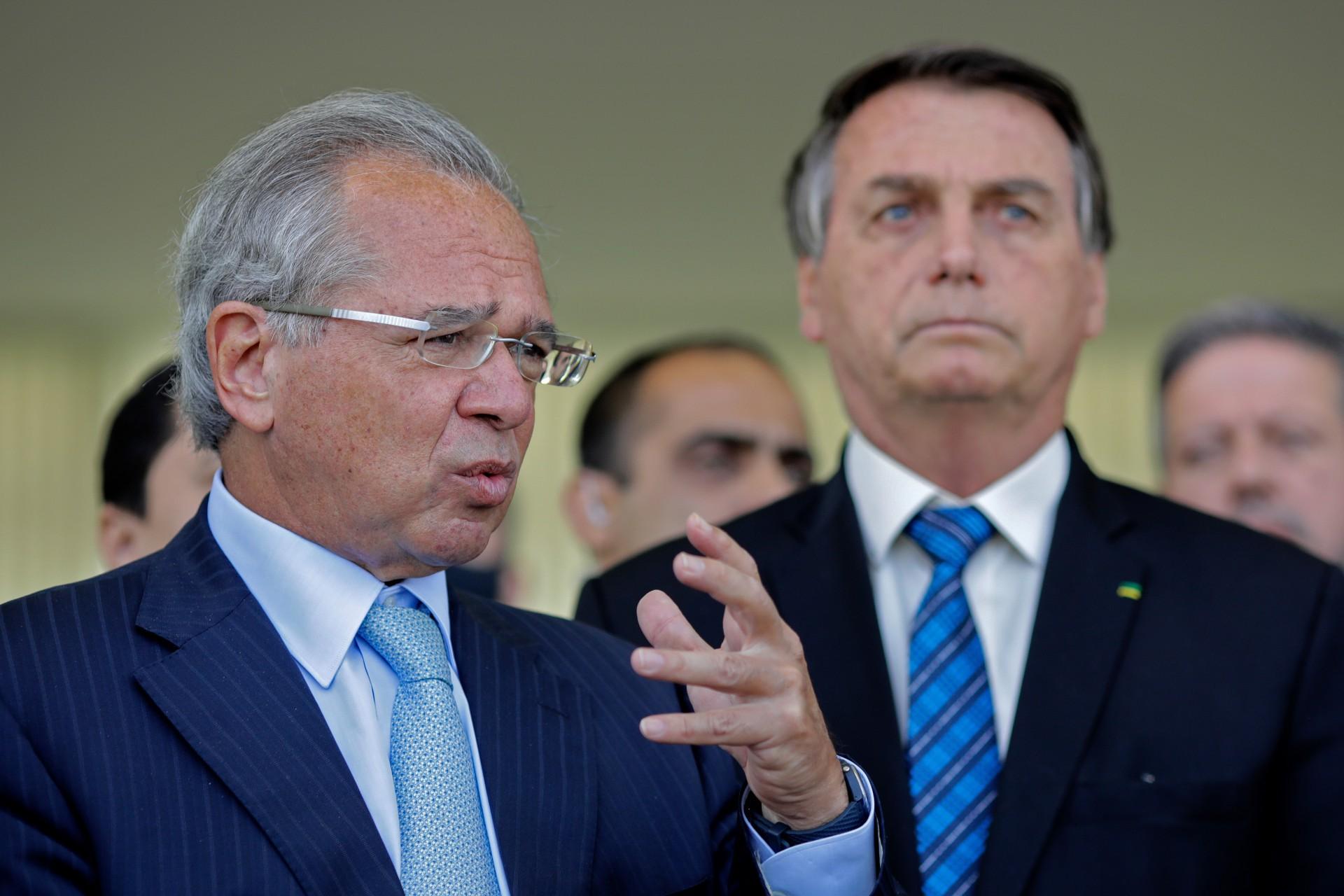 Paulo Guedes é ministro da Economia do governo Bolsonaro (Foto: Sergio Lima / AFP)