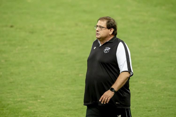 Guto Ferreira falou sobre a derrota do Ceará para o Bragantino  (Foto: Aurelio Alves)