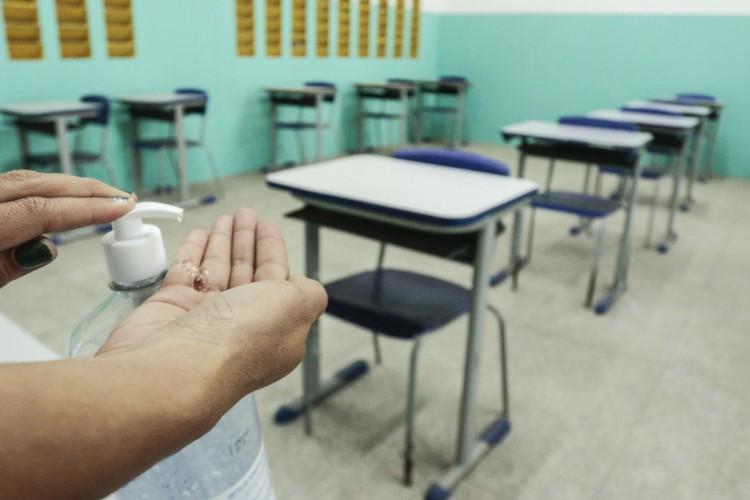 Aulas presenciais no Ceará estão suspensas , exceto para crianças até 3 anos e atividades práticas no ensino superior (Foto: Barbara Moira)