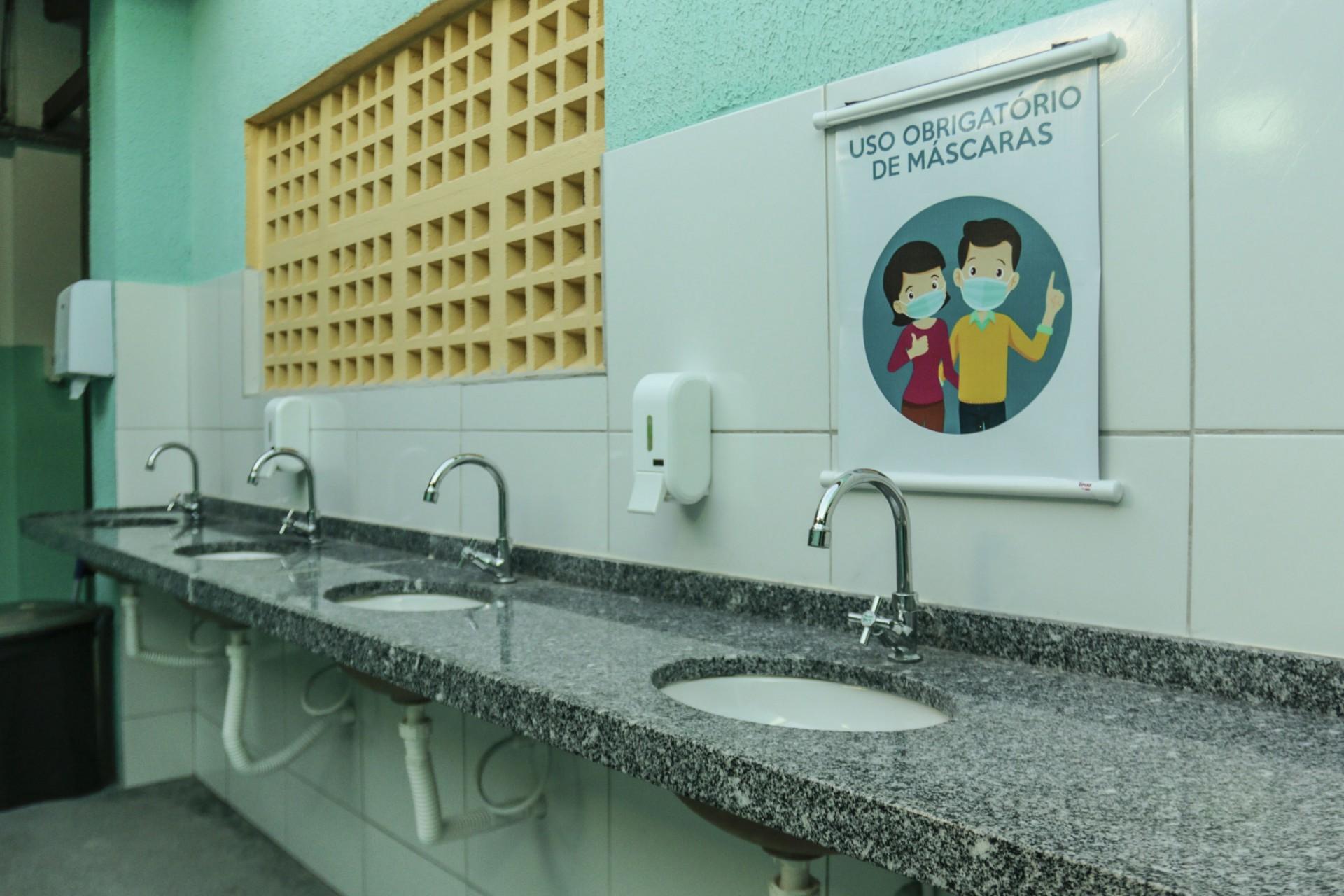Cuidados com higiene são cruciais no retorno às aulas presenciais (Foto: Barbara Moira)