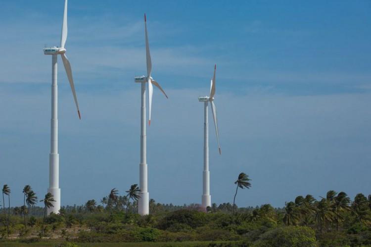 Usina de Energia Eólica (UEE) em Icaraí, no Ceará (CE)(Foto: Divulgação/Ari Versiani/PAC)