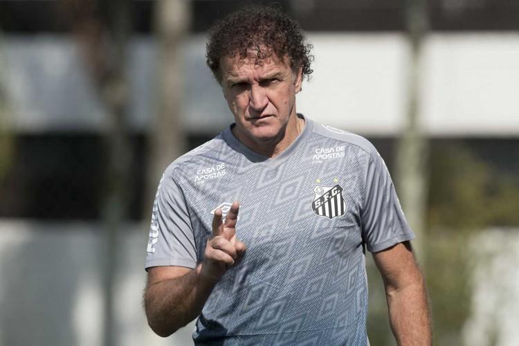 Técnico do Santos, Cuca não definiu time que irá enfrentar o Ceará  (Foto:  Ivan Storti/Santos FC)