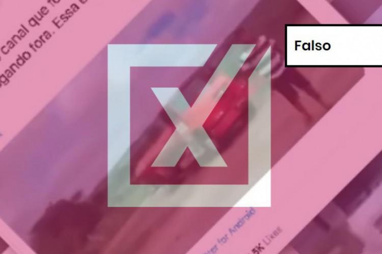 O Projeto Comprova, coalizão de 28 veículos de imprensa do qual O POVO faz parte desde a criação do grupo, em 2018, verificou uma gravação com conteúdo falso  (Foto: Reprodução)