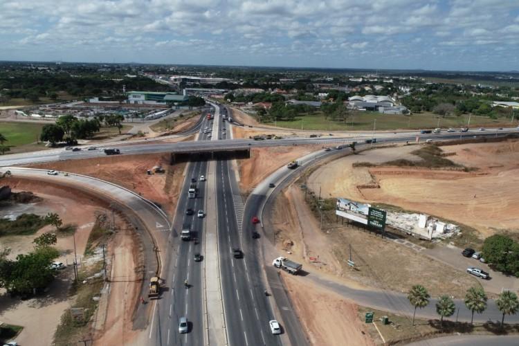 Orçada em R$ 257 milhões, a duplicação dos 32 quilômetros do Anel Viário de Fortaleza tem previsão de conclusão em 2021. (Foto: Divulgação/SOP)