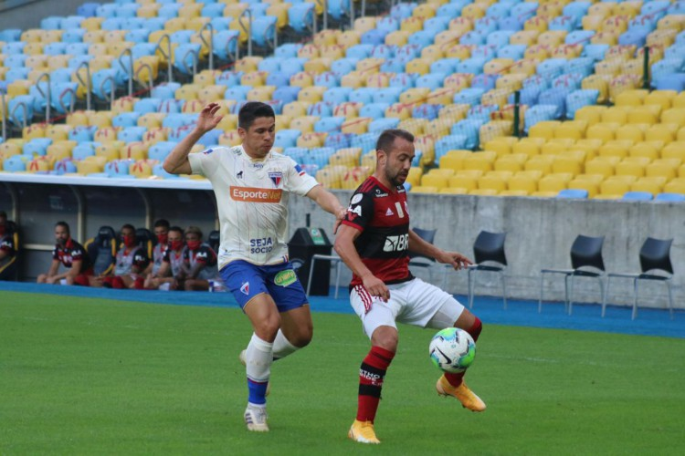 Fortaleza foi derrotado no primeiro turno pelo Flamengo (Foto: Bruno Oliveira/Fortaleza)