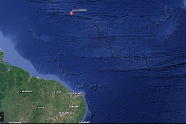 TERREMOTO de grandes proporções foi registrado na faixa dorsal meso-oceânica (Foto: Reprodução/Labsis)