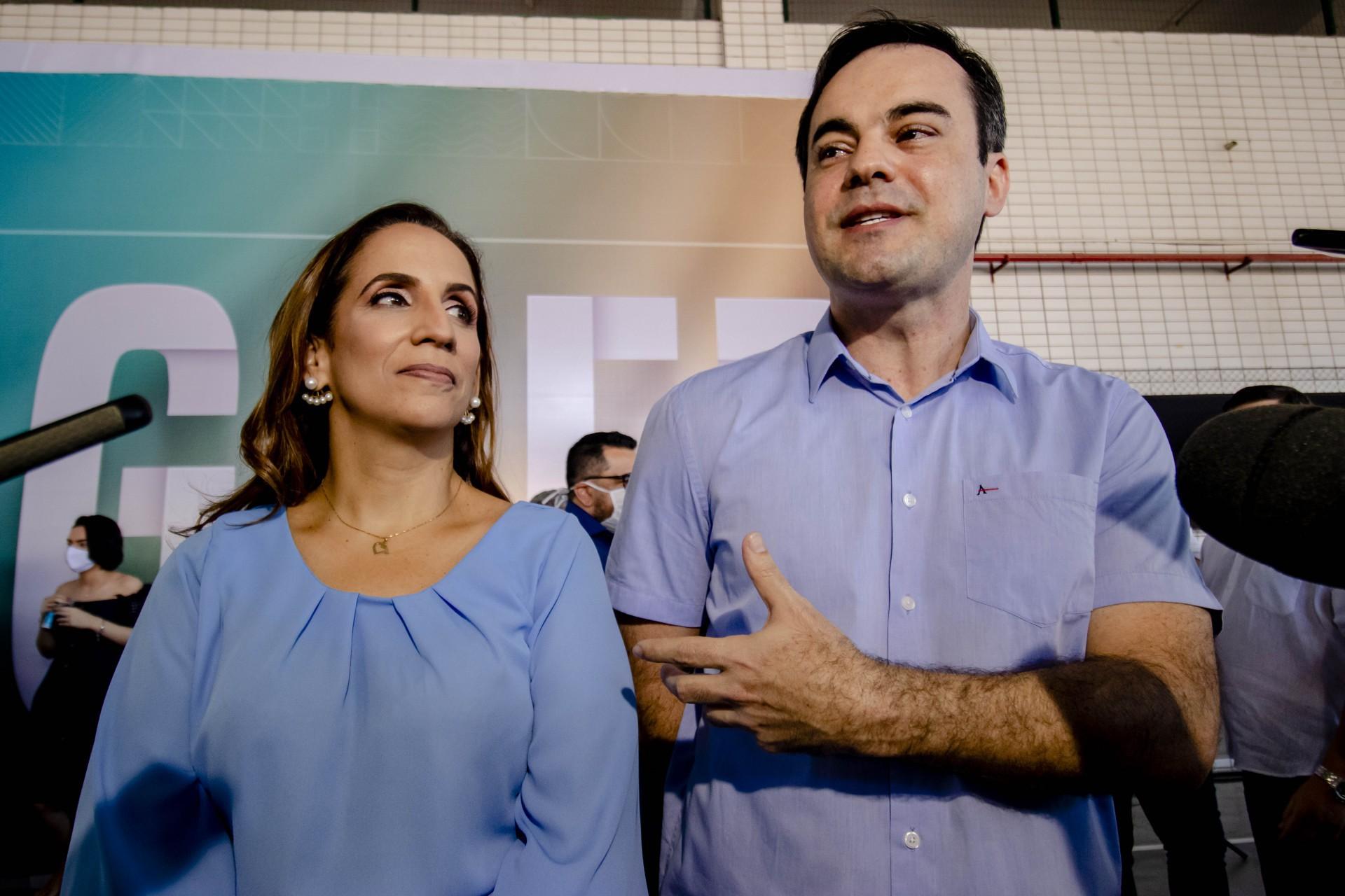 Kamila Cardoso e Capitão Wagner