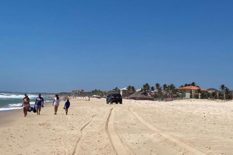 A região do Porto das Dunas é uma região praiana conhecida por disponibilizar aluguel de casas de veraneio para temporada (Foto: LEITOR DO BLOG)