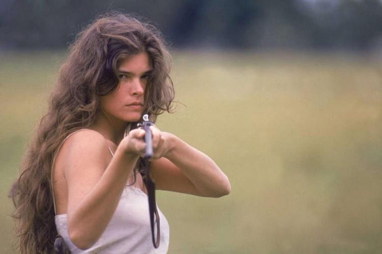 Cristiana Oliveira viveu Juma Marruá em 1990, na novela Pantanal (Foto: divulgação)