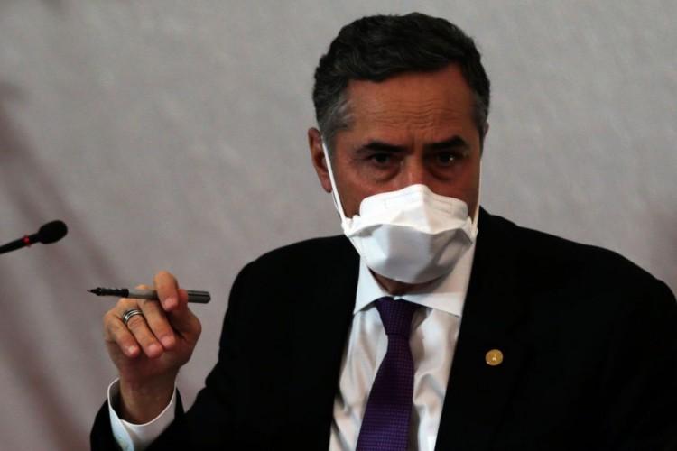 Medidas foram anunciadas pelo presidente do TSE, ministro Luís Roberto Barroso (Foto: Marcello Casal Jr/Agência Brasil)