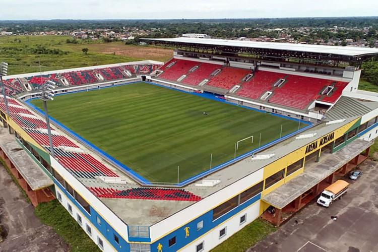 Arena Acreana (Foto: Agência de Notícias; do Acre)