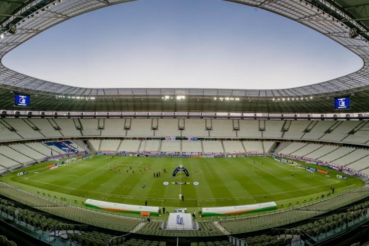 Castelão poderia receber até 19.170 torcedores (Foto: Aurelio Alves)