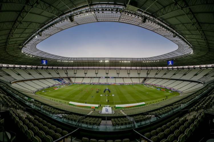 Arena Castelão pode ser palco de rodada dupla das semifinais do Nordestão (Foto: Aurelio Alves)
