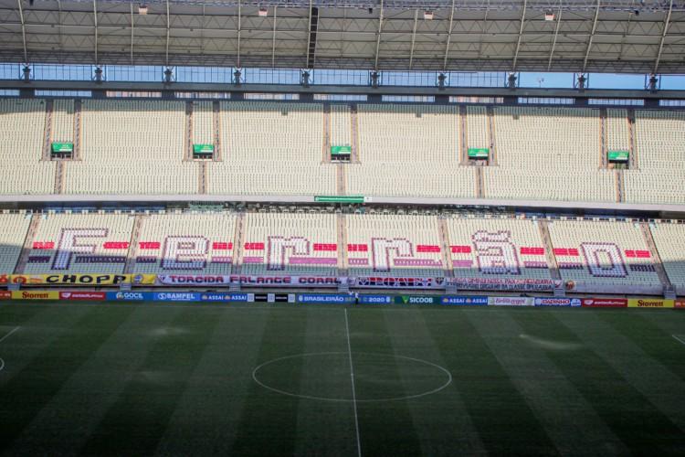 Castelão tem 11 jogos programados para receber em setembro  (Foto: Lenilson Santos/ Ferroviário)