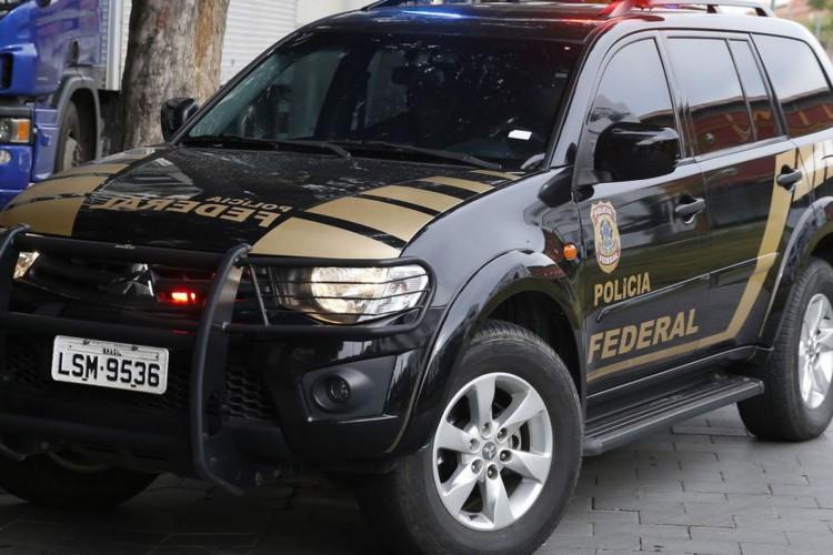 A Polícia Federal prende o banqueiro Eduardo Plass em nova etapa da Operação Hashtag, desbodramento da Lava Jato no Rio de Janeiro. (Foto: Tomaz Silva/Agência Brasil)
