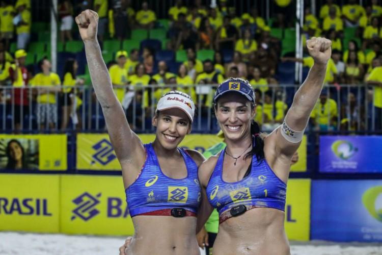 Vôlei de Praia: brasileiras voltam a competir após início da pandemia (Foto: )