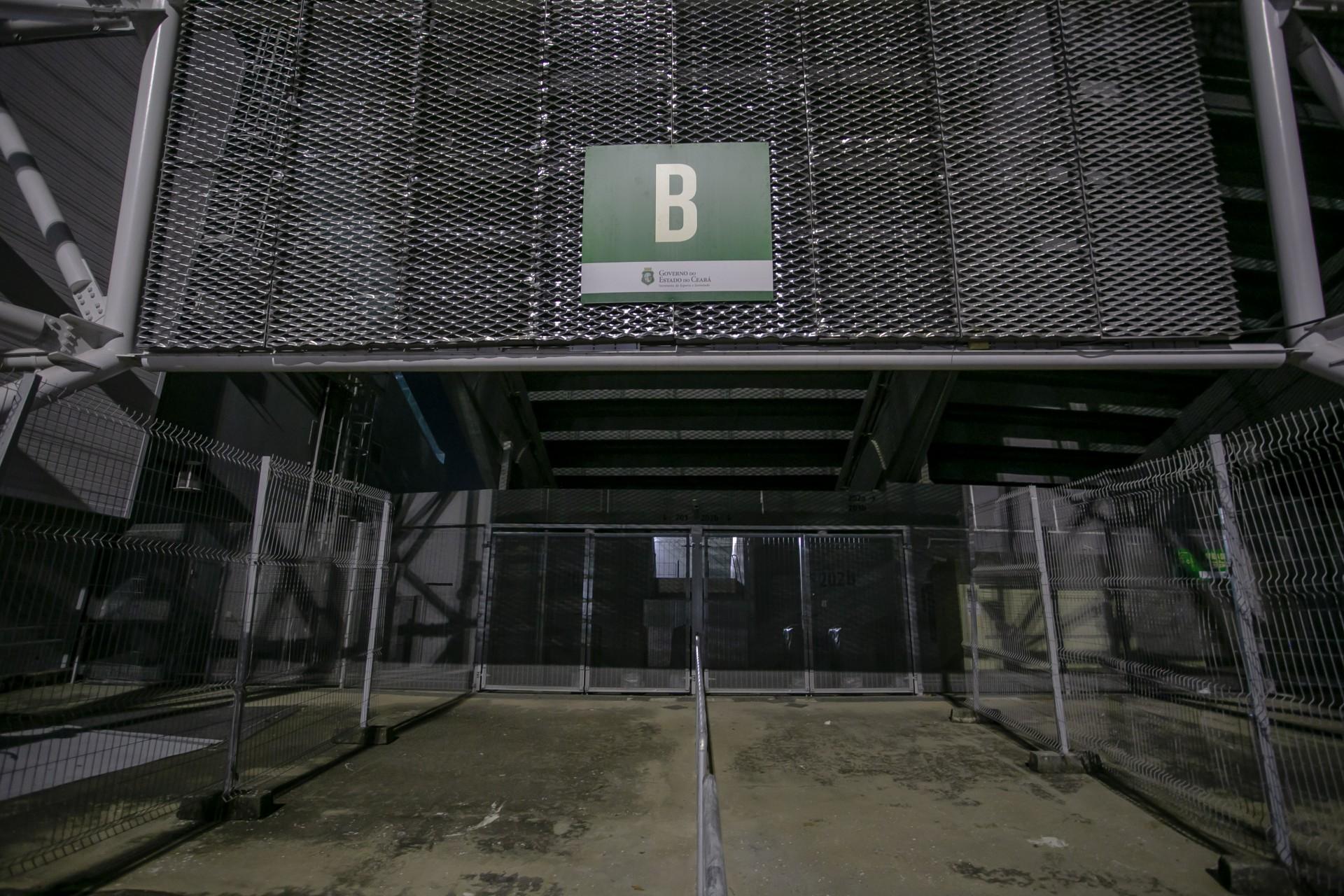 Em decorrência da pandemia do novo coronavírus, Castelão está recebendo jogos com portões fechados
