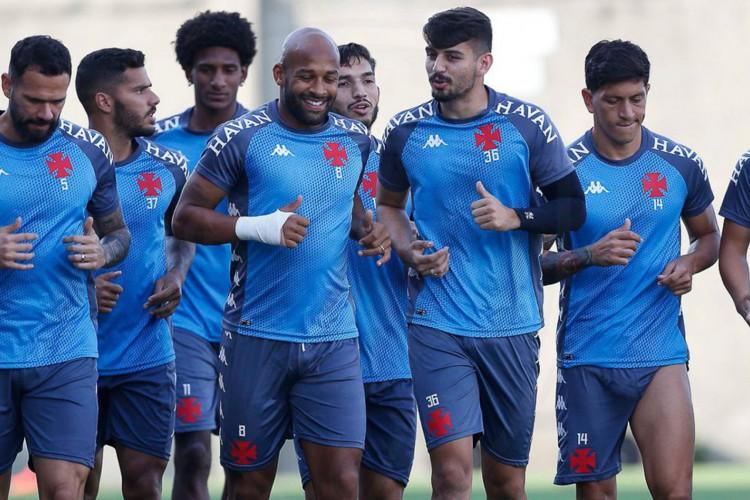 Vasco e Atlético-GO jogam em São Januário (Foto: )