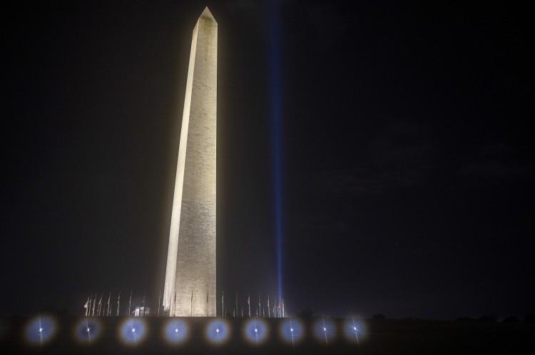 Monumento em Washington em homenagem às vítimas do ataque ao Pentágono