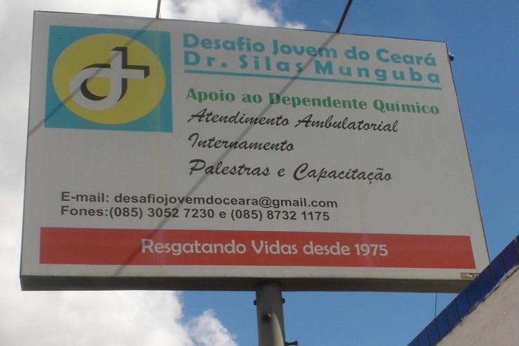 Fundada em 1975, a instituição é uma das mais antigas no acolhimento e recuperação de pessoas que buscam tratamento para dependência química em Fortaleza (Foto: Reprodução/Facebook)