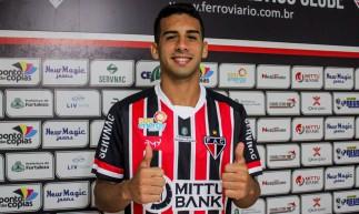 Linnick acertou com o Ferroviário até o fim da Série C do Brasileiro