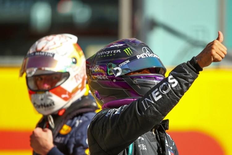 Hexacampeão mundial Lewis Hamilton, da Mercedes (Foto: Bryn Lennon / POOL / AFP)