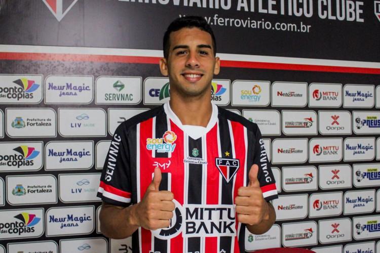 Linnick acertou com o Ferroviário até o fim da Série C do Brasileiro  (Foto: Lenilson Santos/Ferroviário)