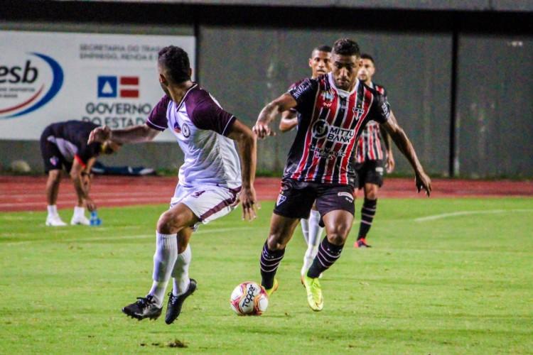 Jacuipense e Ferroviário ficaram no 0 a 0, no Estádio de Pituaçu (Foto: Lenilson Santos / Ferroviário Atlético Clube)