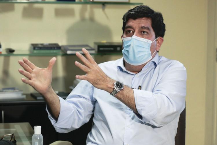 Dr Cabeto, secretária da Saúde do Ceará (Foto: Barbara Moira)