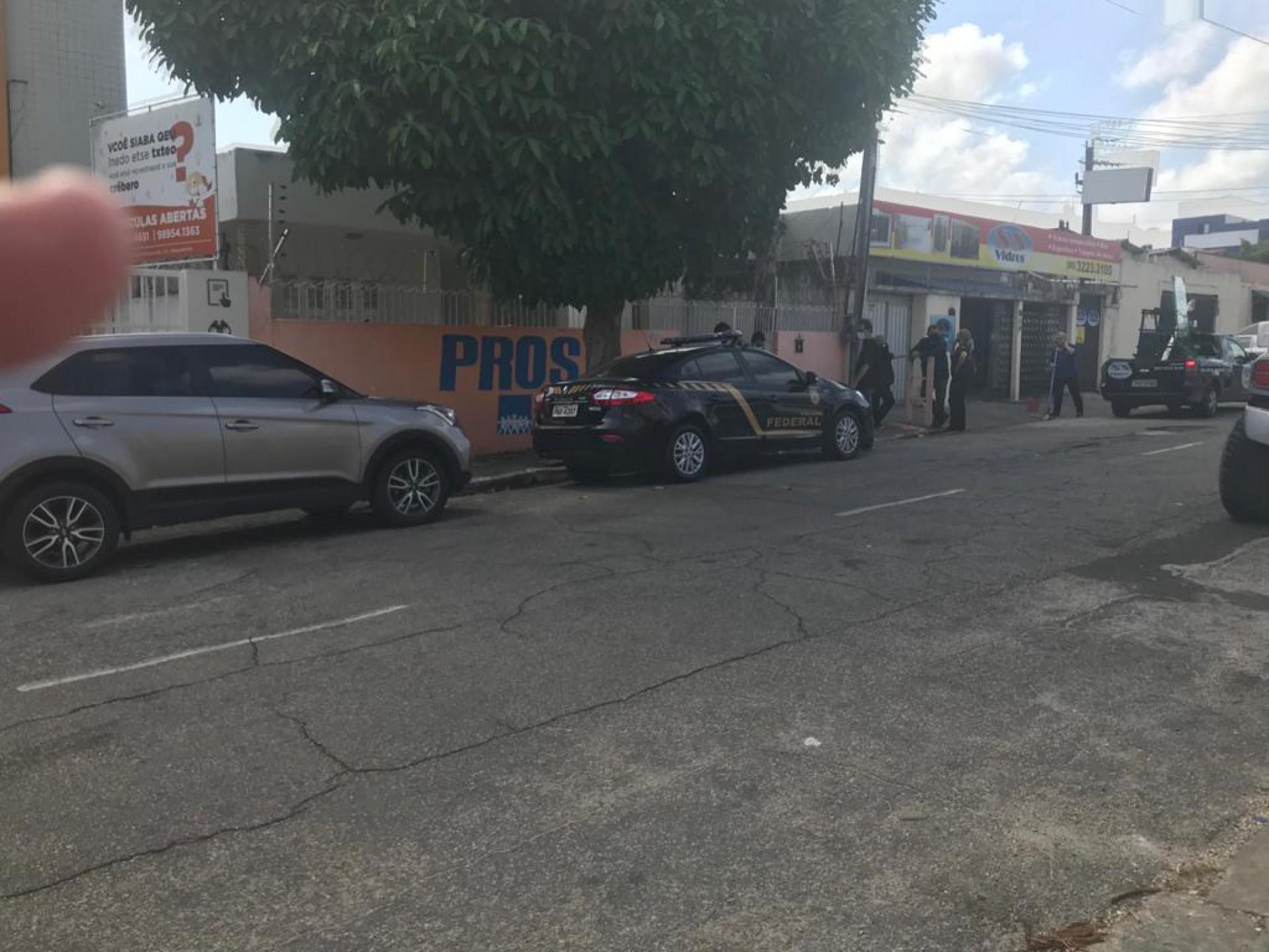PF está em diligências na sede do Pros, em Fortaleza