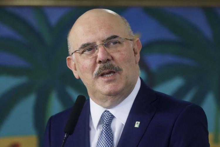 Ministro da Educação Milton Ribeiro. (Foto: Isac Nóbrega/PR)