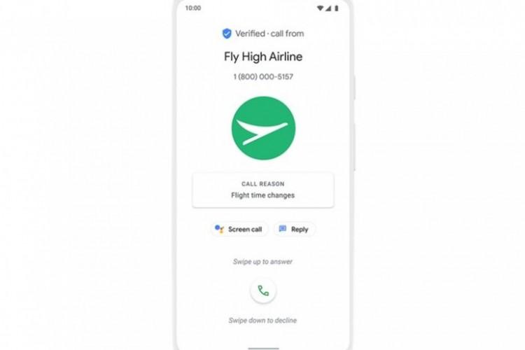 Google vai oferecer serviço de identificação de chamadas que poderá indicar o motivo da ligação (Foto: Reprodução/The Verge)