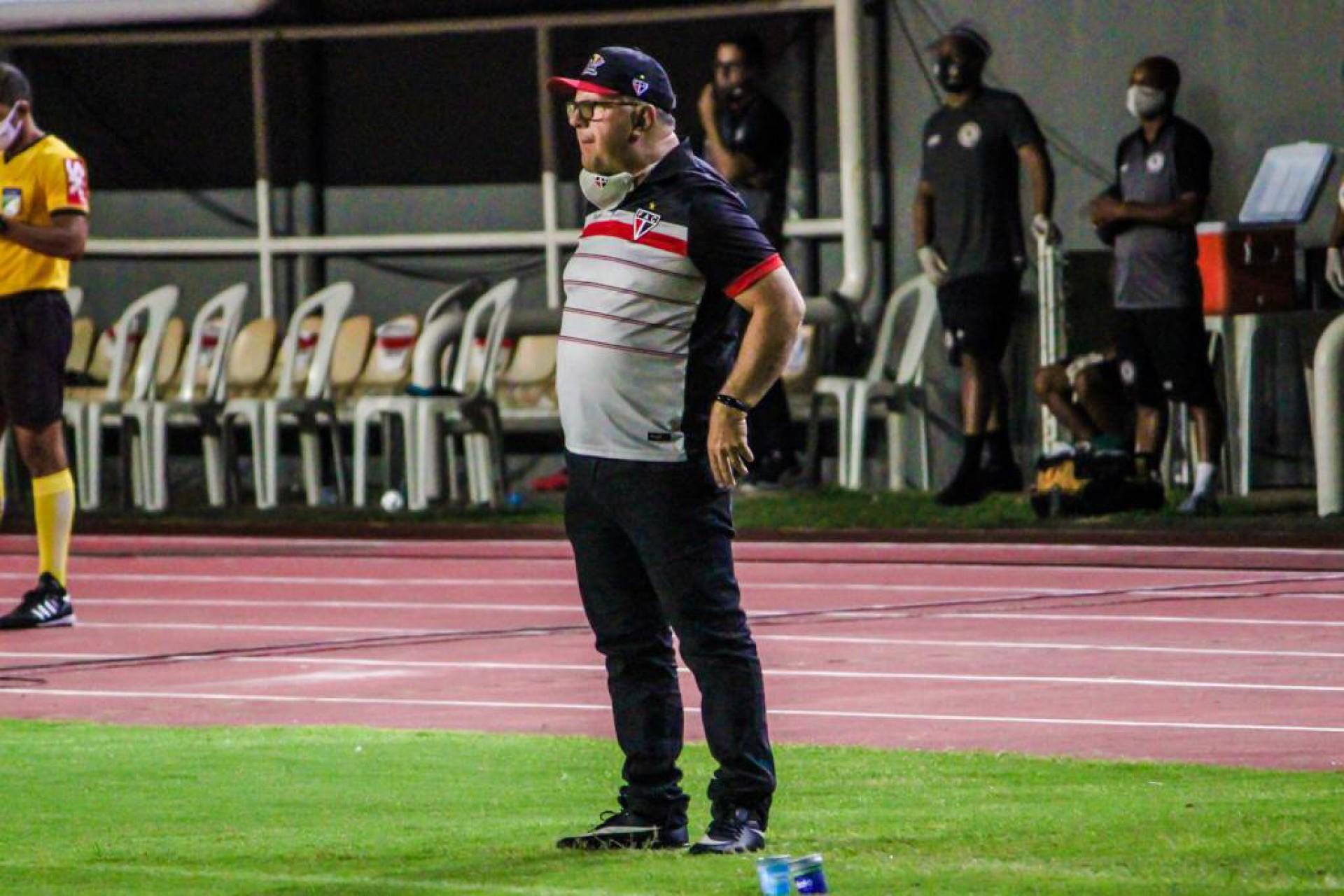 Marcelo Vilar ponderou que desfalques pesaram contra Jacuipense