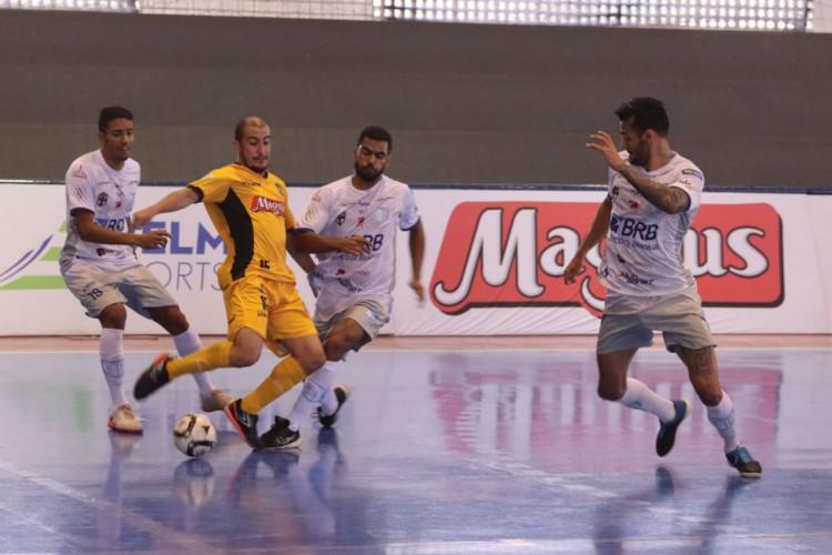 Magnus mantém 100% de aproveitamento na Liga Nacional de Futsal (Foto: )