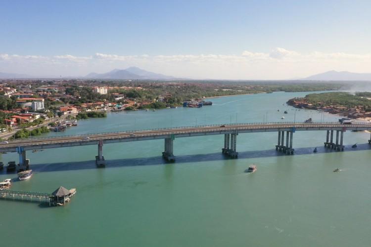 O Rio Ceará, símbolo de valor ambiental e histórico do Estado, deságua na divisa entre os municípios de Caucaia e Fortaleza. Foto: divulgação  (Foto: Divulgação)