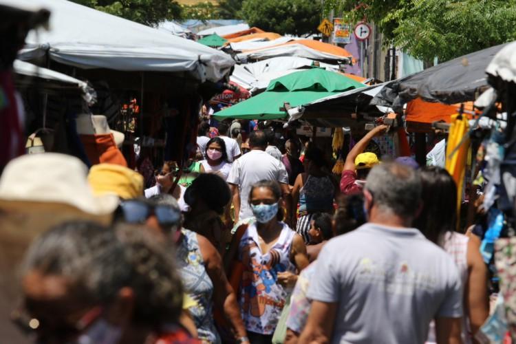 Feiras livres já funcionavam sem permissão em decreto estadual (Foto: Fabio Lima)