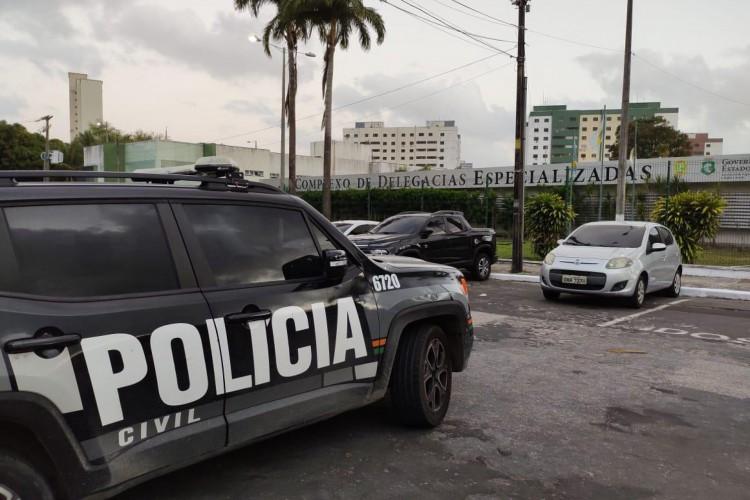 Operação Gênesis visa desarticular organização criminosa formada por agentes e ex-agentes de Segurança Pública. (Foto: Divulgação/MPCE)