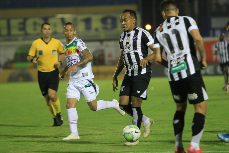 Ceará encara o Brusque na partida da volta pela Copa do Brasil, na quarta-feira, 23 (Foto: Israel Simonton/Ceará SC)