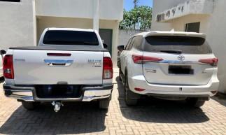 Veículos são avaliados em torno de R$400 mil