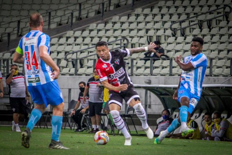 Ferroviário enfrentou o Paysandu na Arena Castelão  (Foto: Lenilson Santos/Ferroviário AC)