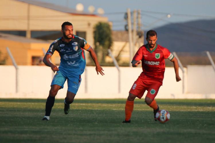 Floresta foi derrota por 1 a 0 pelo Afogado, na tarde desse domingo, 20, em Afogados da Ingazeira (PE) (Foto: Ronaldo Oliveira / ASCOM Floresta EC)