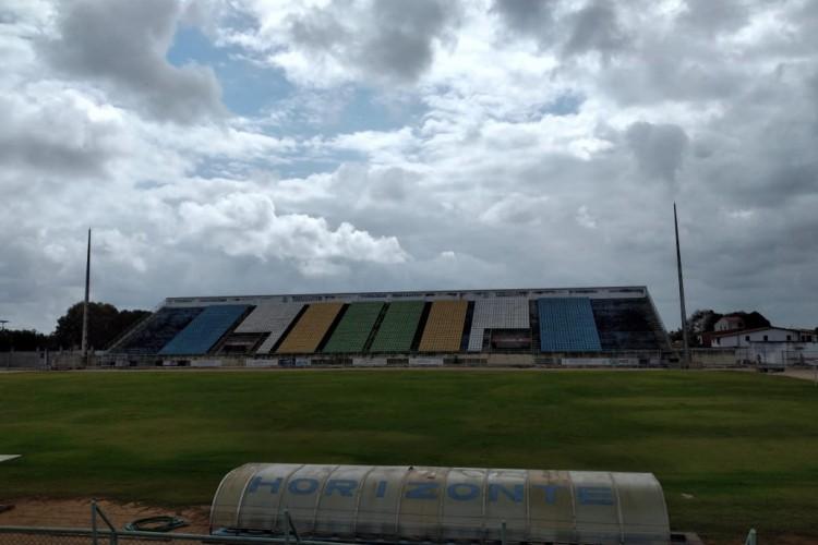 Domingão não recebe uma partida oficial desde 22 de janeiro de 2020 (Foto: Newton Filho/Ferroviário )
