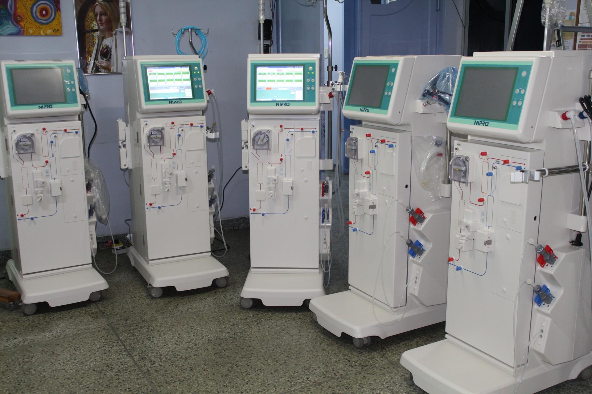 Conjunto de máquinas adquiridas