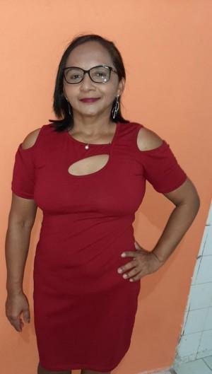 Dona Antônia sobreviveu a 22 golpes de faca. Ela está sob os cuidados da família  (Foto: Arquivo pessoal )